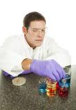Cientista que trabalha no laboratório Imagem de Stock Royalty Free