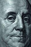 Cientos billetes de banco del dólar Foto de archivo libre de regalías