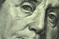 Cientos billetes de dólar Fotografía de archivo libre de regalías