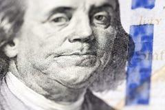 Cientos dólares de EE. UU. imágenes de archivo libres de regalías