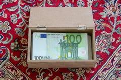 Cientos euros imagen de archivo