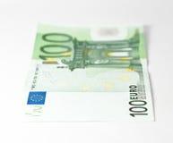 Cientos euros Foto de archivo libre de regalías