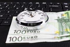 Cientos euros Fotos de archivo