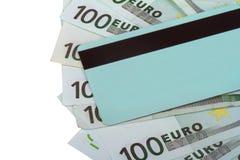 Cientos euros Banknots Imagen de archivo