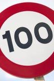 Cientos Miles Per Hour Imagen de archivo libre de regalías