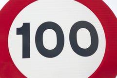 Cientos Miles Per Hour Imagen de archivo