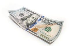 Cientos primers del dólar Imagen de archivo libre de regalías