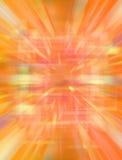 ciepła tło abstrakcjonistyczna pomarańcze Zdjęcia Stock