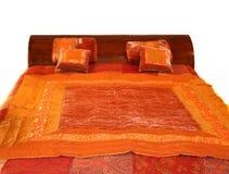 ciepłe łóżko Zdjęcia Royalty Free