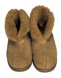 ciepłe buty. Zdjęcia Royalty Free