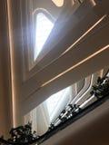 Ciepły światło słoneczne od sufitu w budynek Zdjęcie Royalty Free