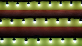 Ciepły Bożenarodzeniowy oświetlenie przy schody Fotografia Royalty Free
