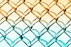 Ciepły i Chłodno Lodowy diamentu wzoru tło Zdjęcie Stock