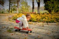 Ciepły słoneczny dzień w Złotej jesieni zdjęcie royalty free