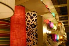 ciepła dekoracyjna lampa Zdjęcie Stock
