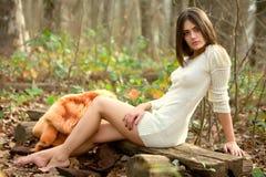ciepły drewno Zdjęcia Stock