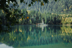 Ciepły jezioro Obraz Royalty Free