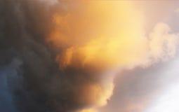 Ciepły & Zimny chmura wzór obraz stock