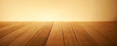 Ciepły Drewniany tło sztandar Zdjęcia Stock
