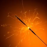 Cierge magique brûlé Photo stock