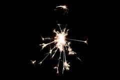 Cierge magique pyrotechnique Matériel d'éclairage pour la nouvelle année et le Noël Photos stock