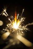 Cierges magiques électriques Photos libres de droits