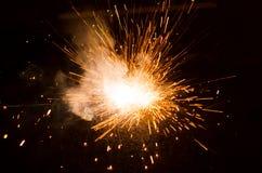 Cierges magiques Photographie stock libre de droits