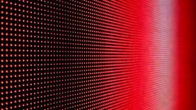 Cierre abstracto encima del fondo video coloreado brillante del extracto de la pared del LED SMD almacen de video