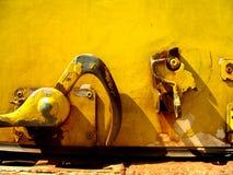 Cierre amarillo Fotos de archivo libres de regalías