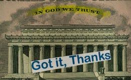 Cierre americano de la herencia por la fotografía macra imagen de archivo libre de regalías