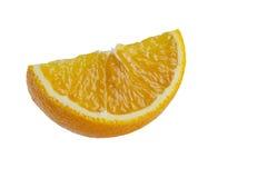 Cierre anaranjado de la rebanada para arriba Foto de archivo
