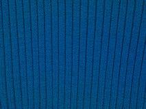 Cierre azul de la textura de la tela para arriba, fondo foto de archivo libre de regalías