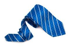 Cierre azul del lazo para arriba Imagen de archivo libre de regalías