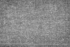 Cierre blanco y negro áspero del paño de la tela para arriba fotos de archivo libres de regalías