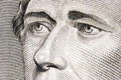 Cierre de Alexander Hamilton para arriba Fotos de archivo libres de regalías