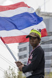 Cierre de Bangkok: 14 de enero de 2014 Imágenes de archivo libres de regalías