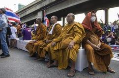 Cierre de Bangkok: 14 de enero de 2014 Fotografía de archivo libre de regalías