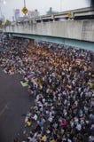 Cierre de Bangkok: 13 de enero de 2014 Fotografía de archivo