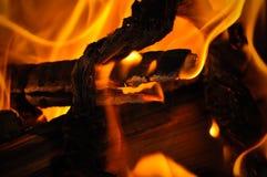 Cierre de Bornfire para arriba Foto de archivo libre de regalías