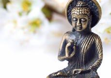 Cierre de Buddah para arriba Fotos de archivo