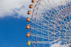 Cierre de Ferris Wheel de la observación para arriba Fotografía de archivo