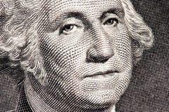 Cierre de George Washington para arriba Fotografía de archivo