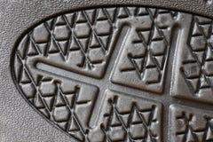 Cierre de goma de la planta del pie para arriba Foto de archivo libre de regalías