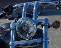 Cierre de Harley Davidson para arriba Imagen de archivo libre de regalías