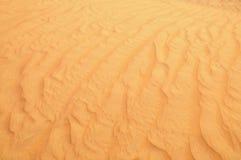 Cierre de la arena del desierto para arriba Imagenes de archivo