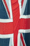Cierre de la bandera de unión Imagenes de archivo