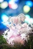 Cierre de la bola de la Navidad para arriba Imagen de archivo libre de regalías