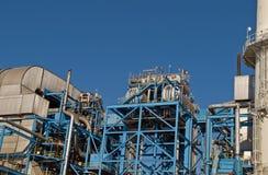 Cierre de la central eléctrica para arriba Imagen de archivo libre de regalías