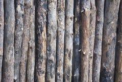 Cierre de la cerca del registro encima del tiro para el fondo Fotos de archivo