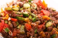 Cierre de la comida de Bean Egyptian para arriba Fotos de archivo libres de regalías